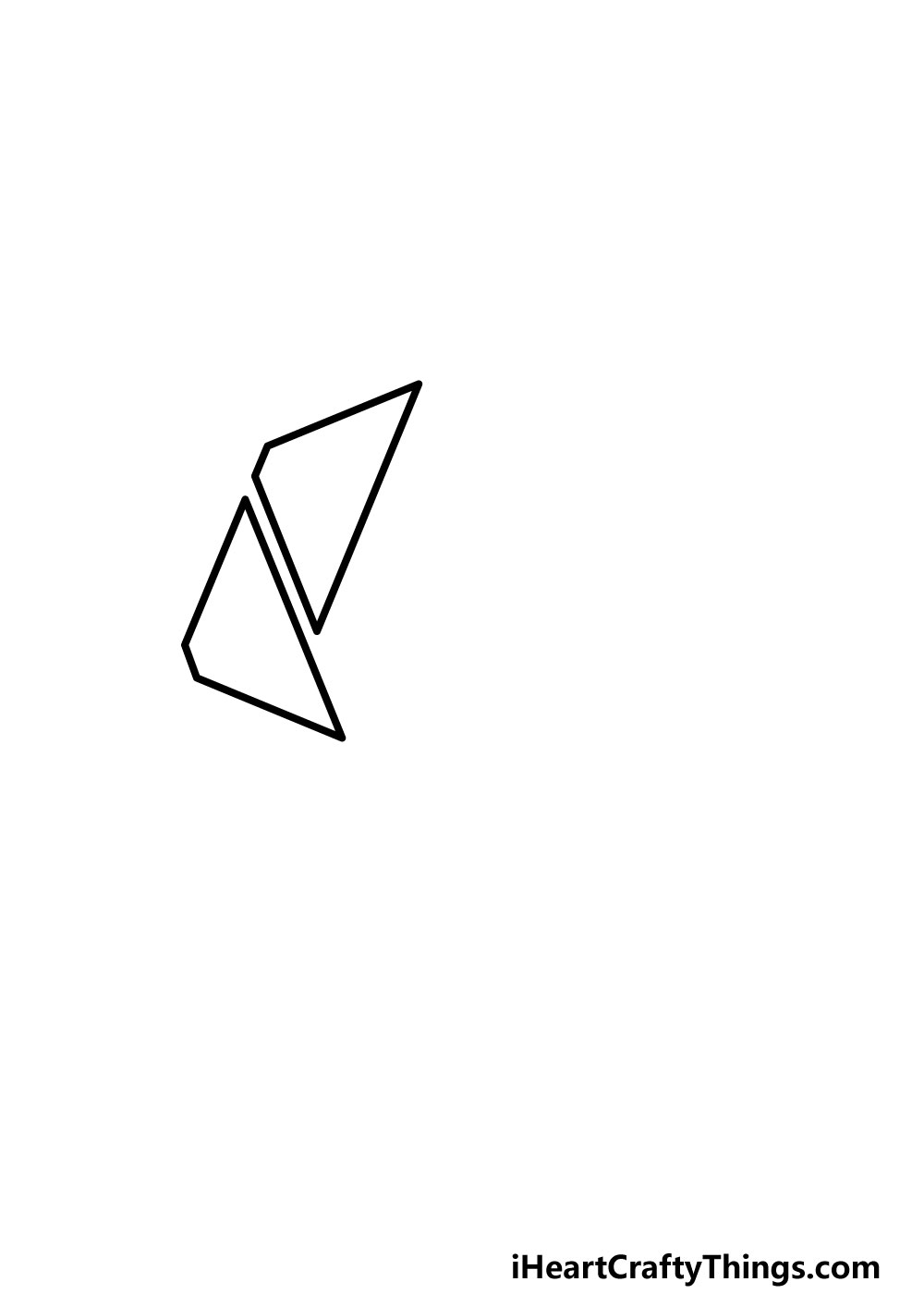 drawing an octagon step 1