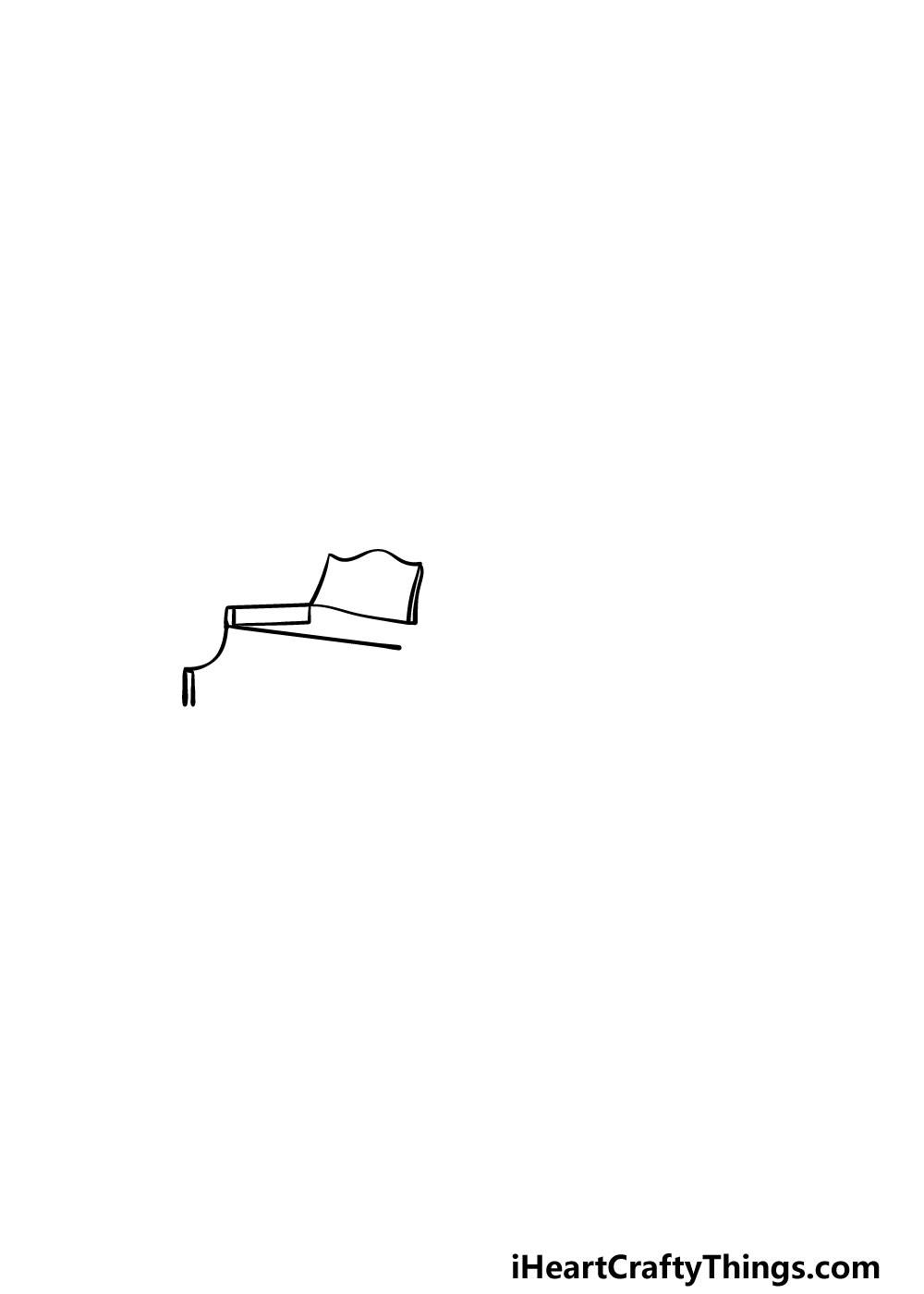 drawing a piano step 1