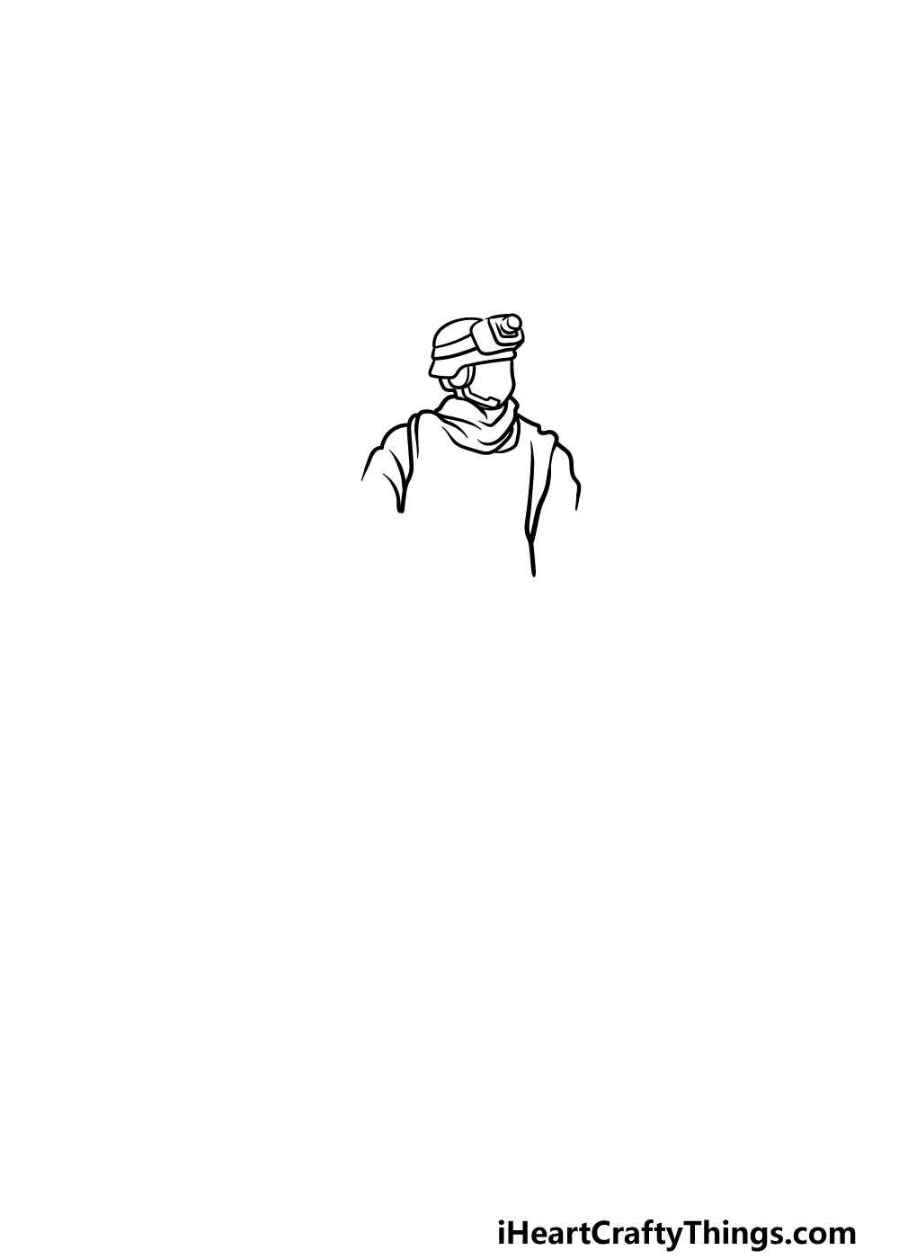 drawing a soldier step 1