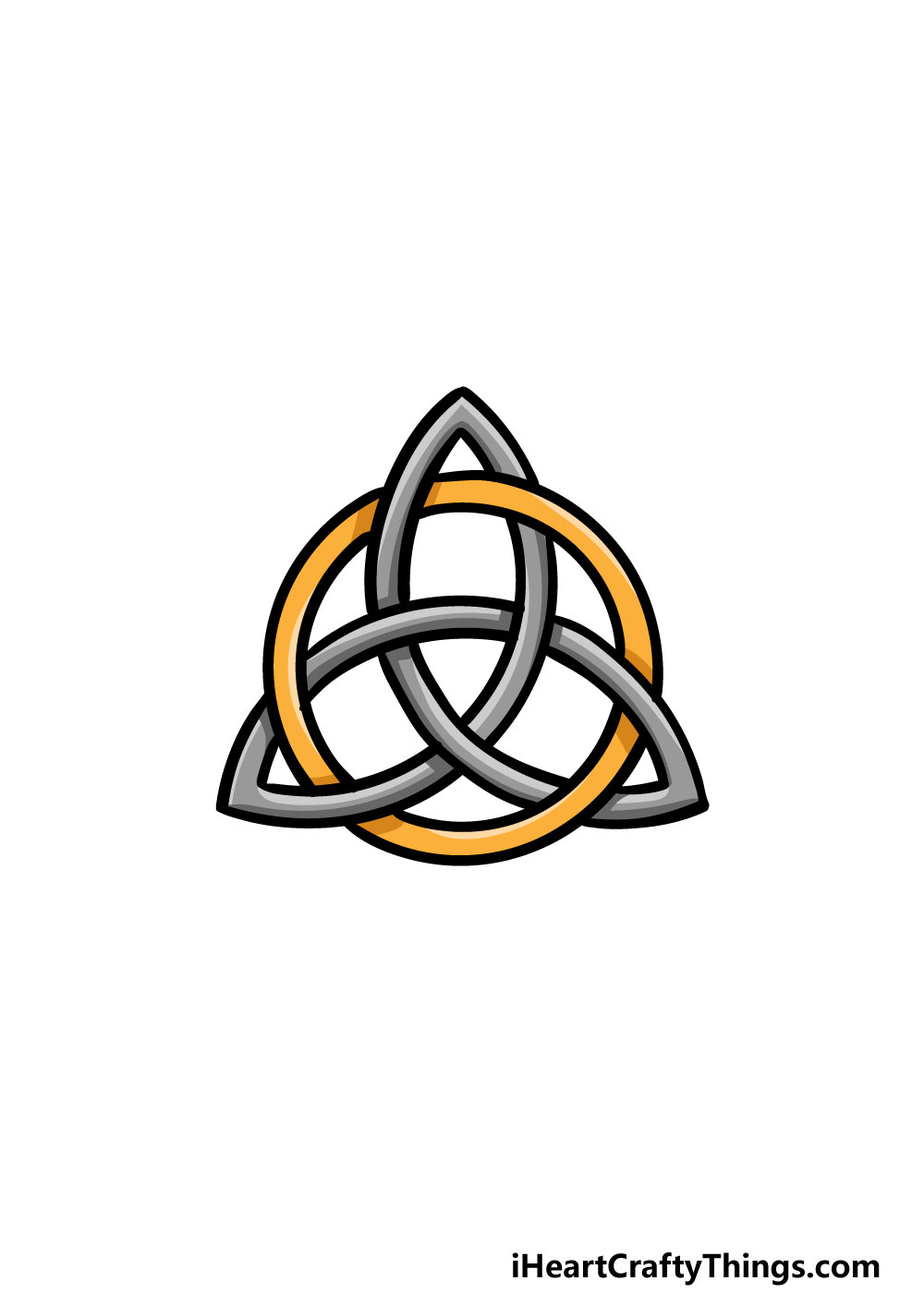 drawing a celtic knot step 10