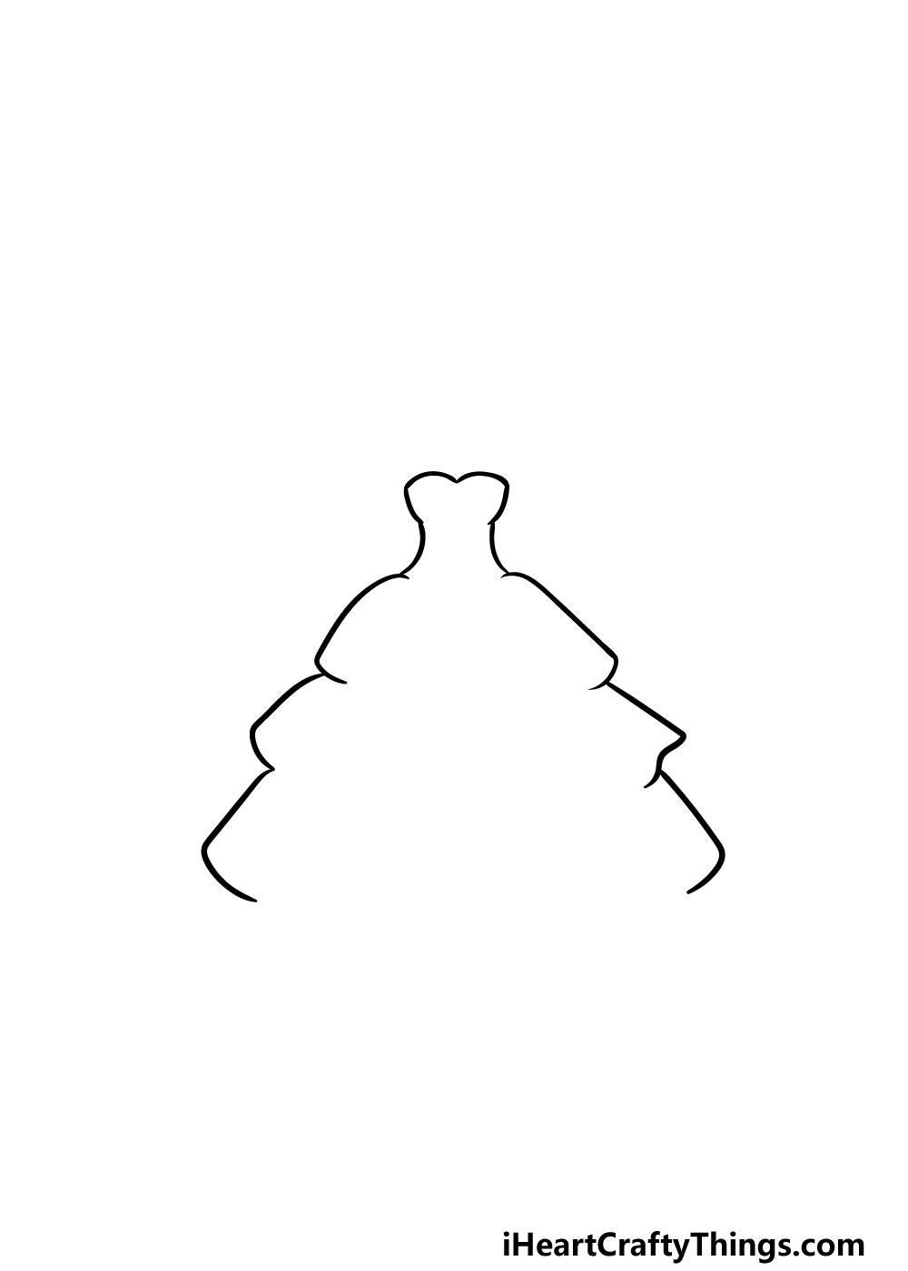 drawing ruffles step 2