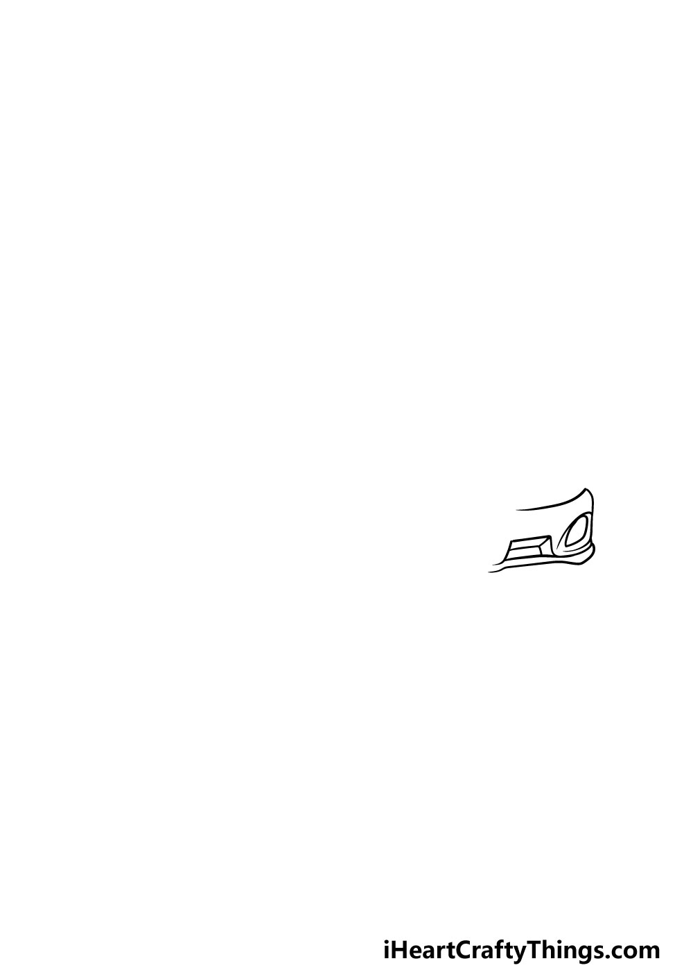 drawing a  ferrari step 2