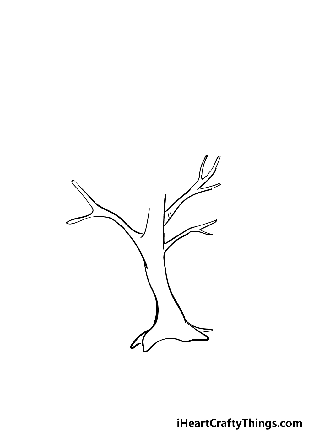 drawing branches step 2