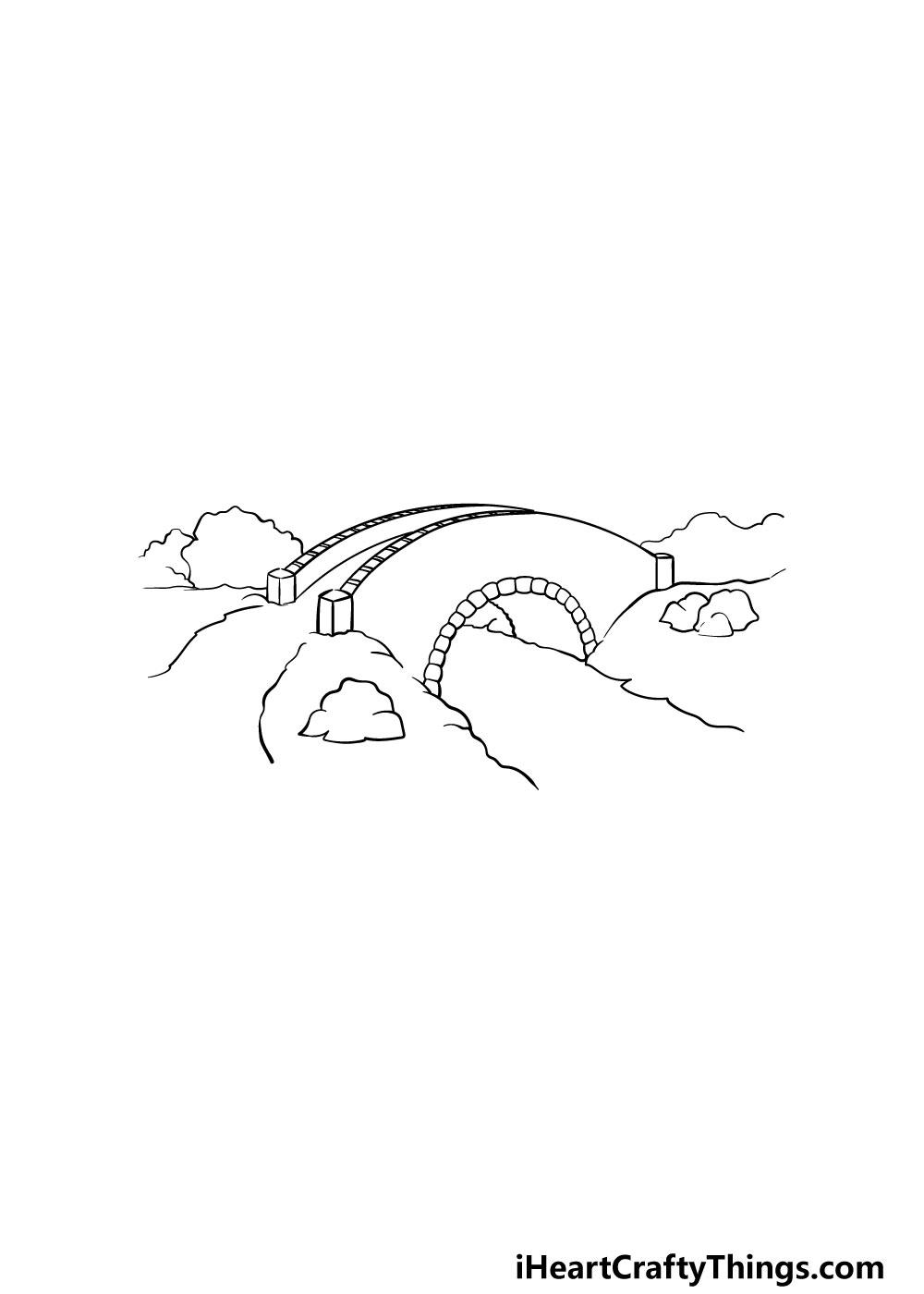 bridge drawing step 2