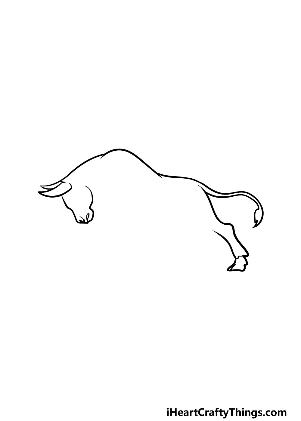 drawing a bull step 2