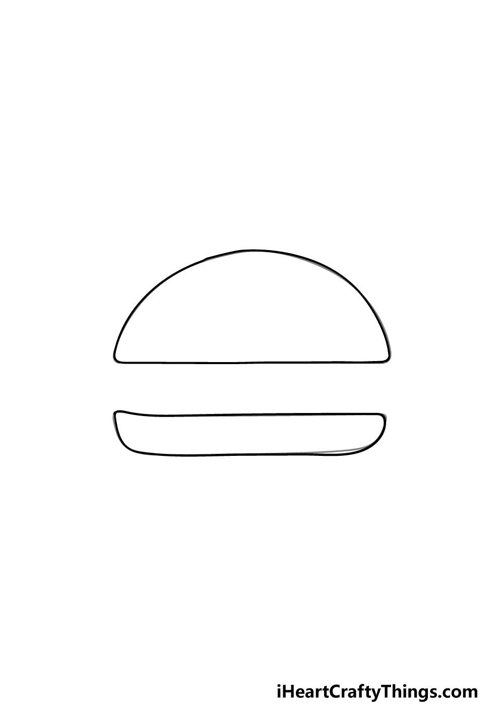 drawing a bun step 2