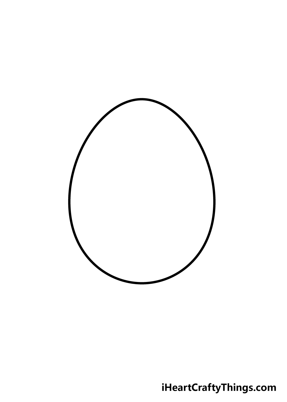 egg drawing step 2