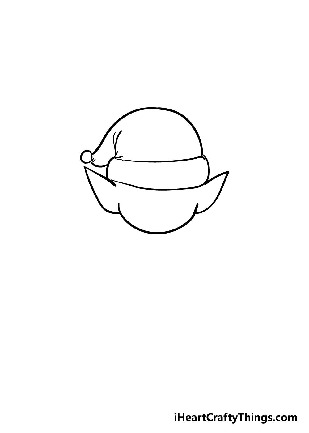 elf drawing step 2