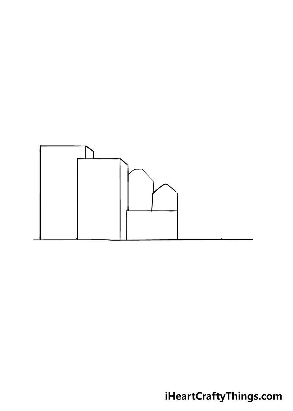 drawing a city step 2