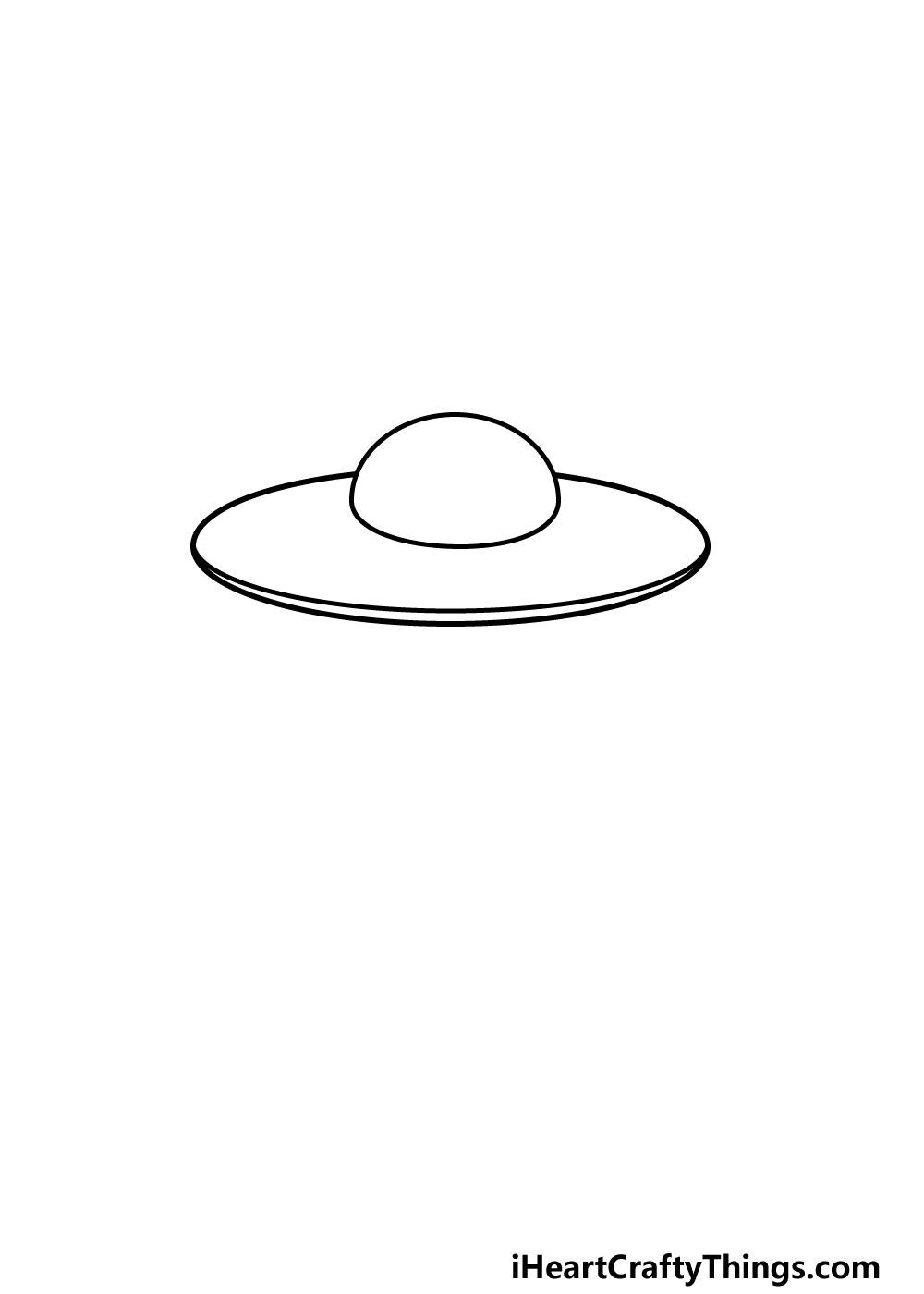 drawing a UFO step 2