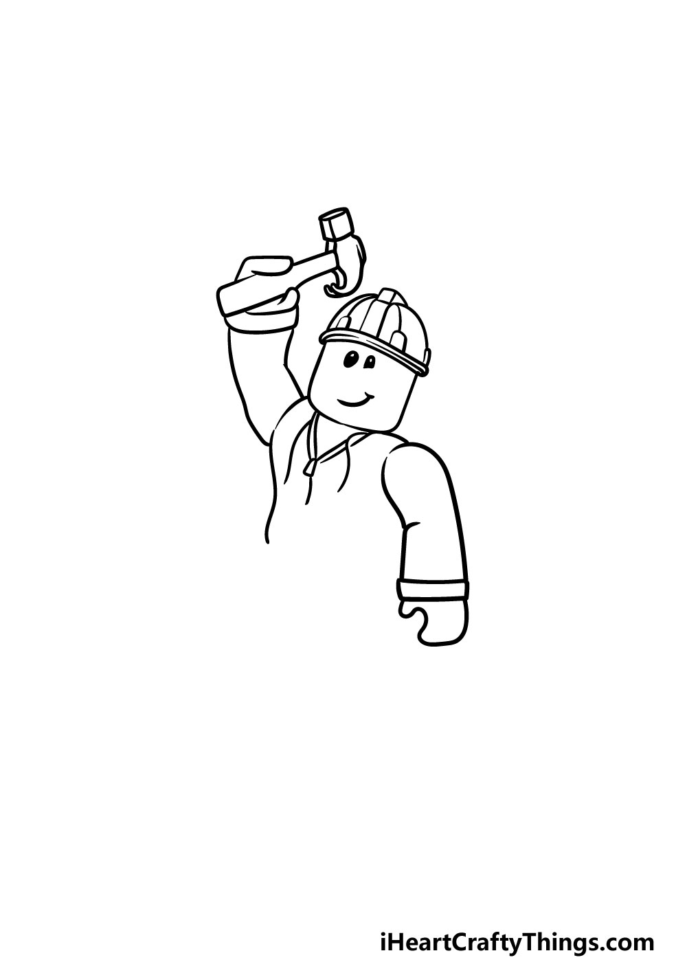 drawing roblox step 3