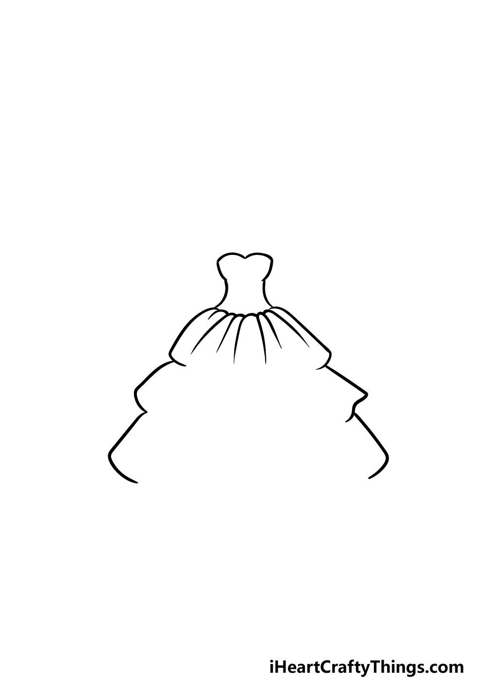 drawing ruffles step 3