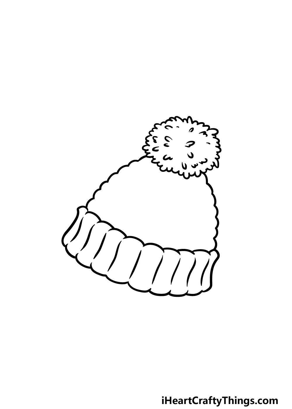 drawing beanie step 3