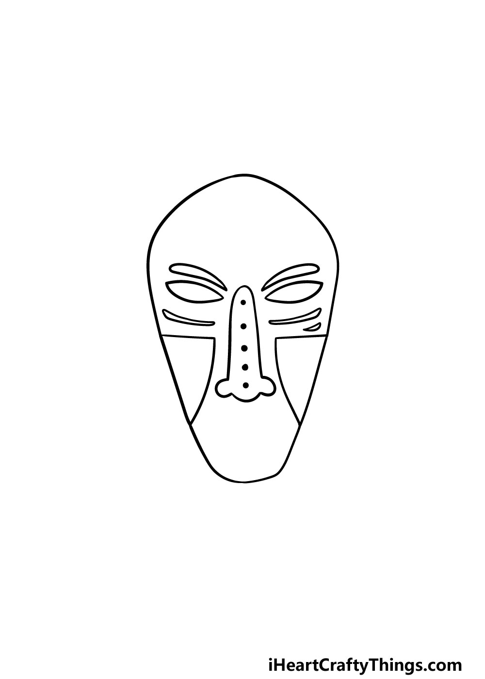 drawing a mask step 3