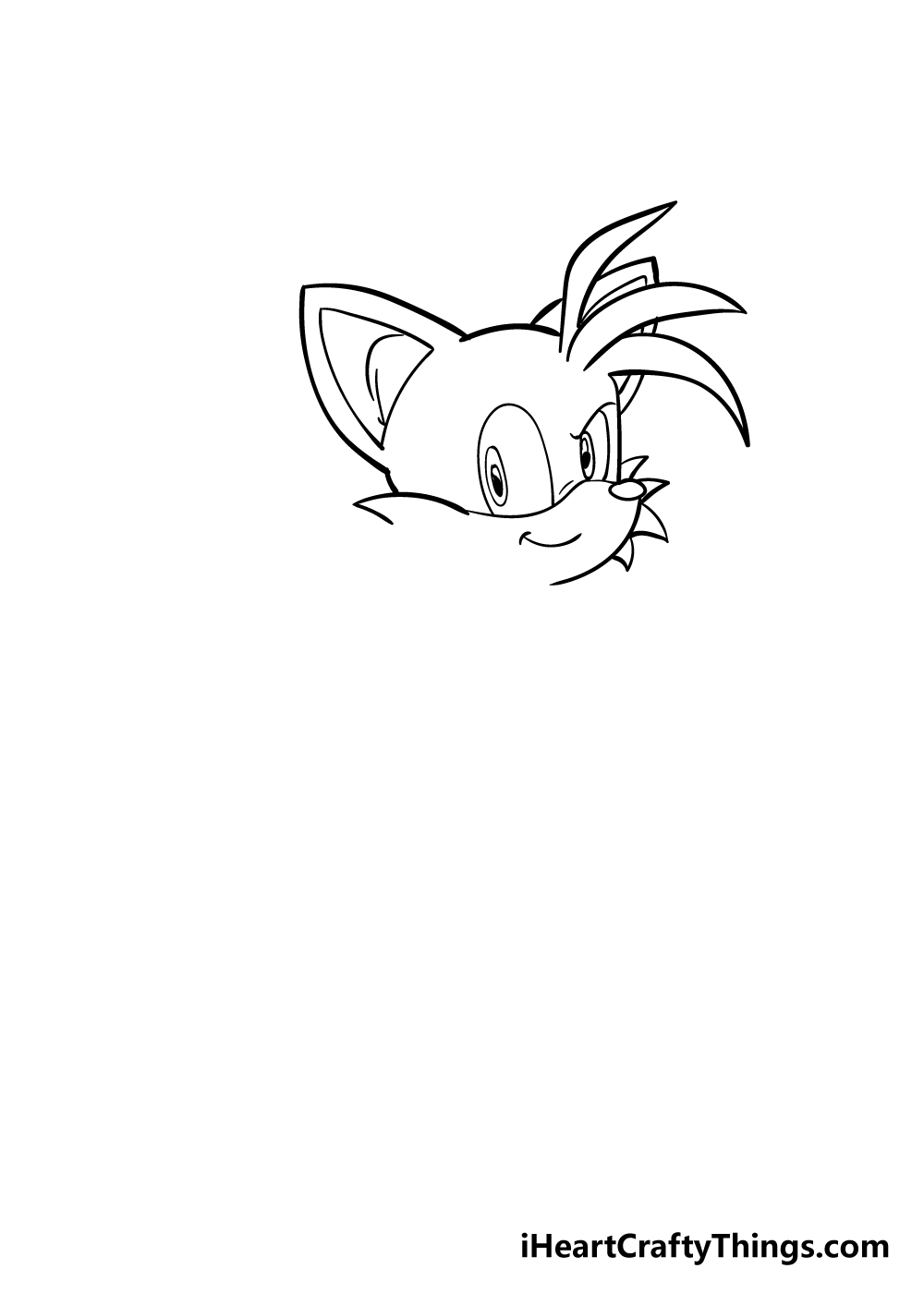 tails drawing step 3