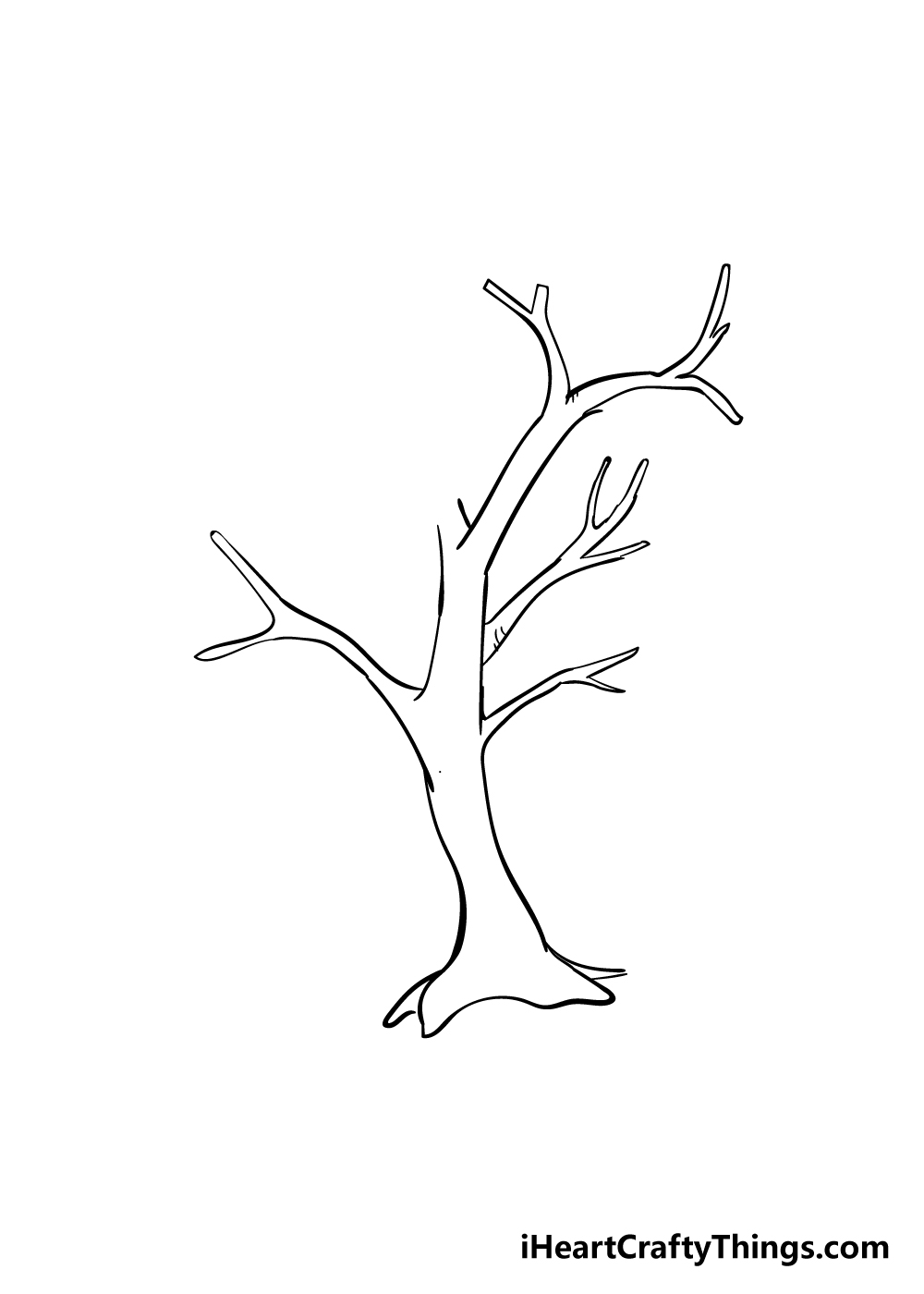 drawing branches step 3