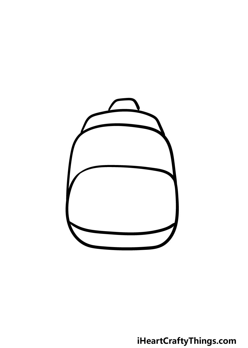 drawing backpack step 3