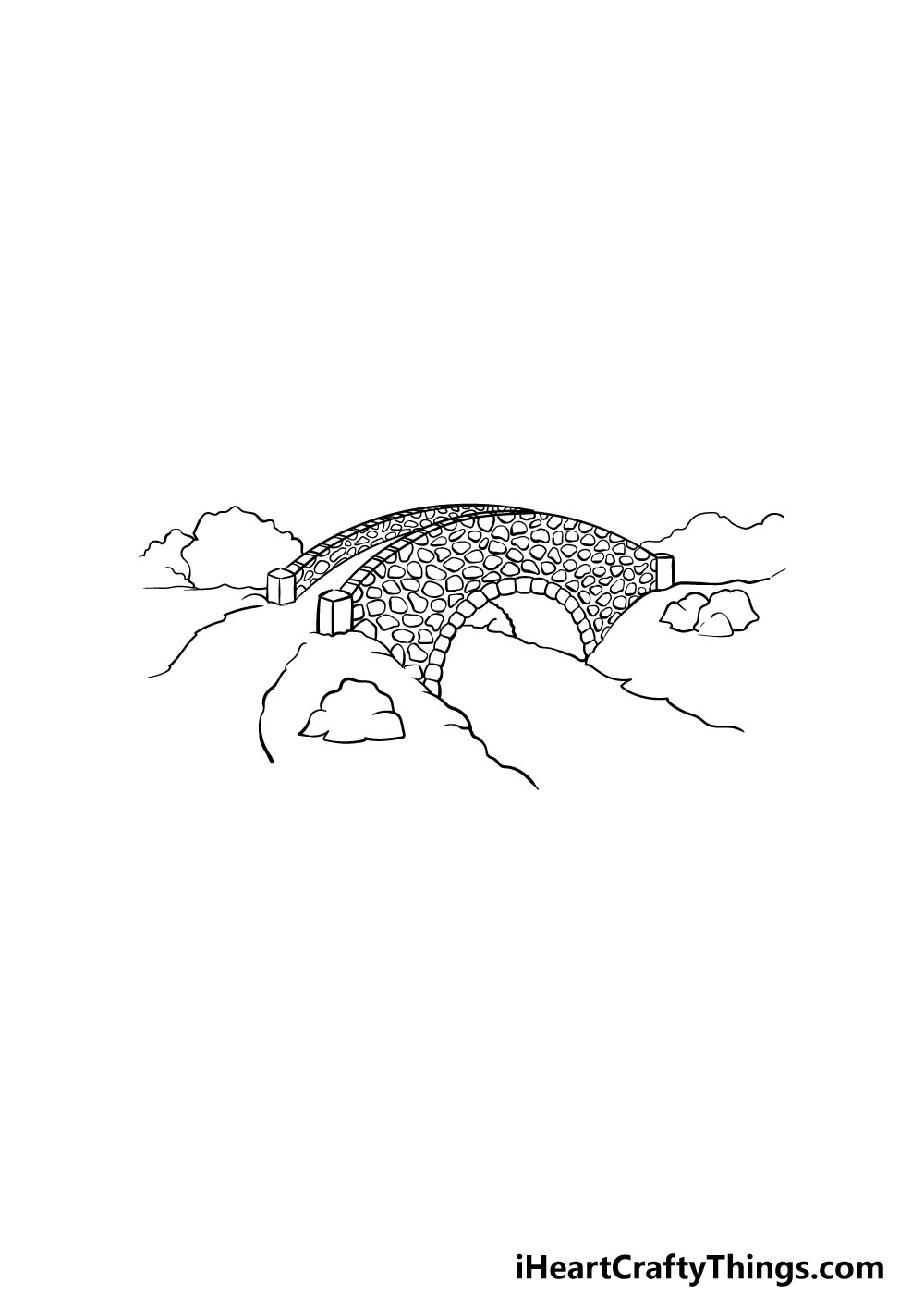 bridge drawing step 3