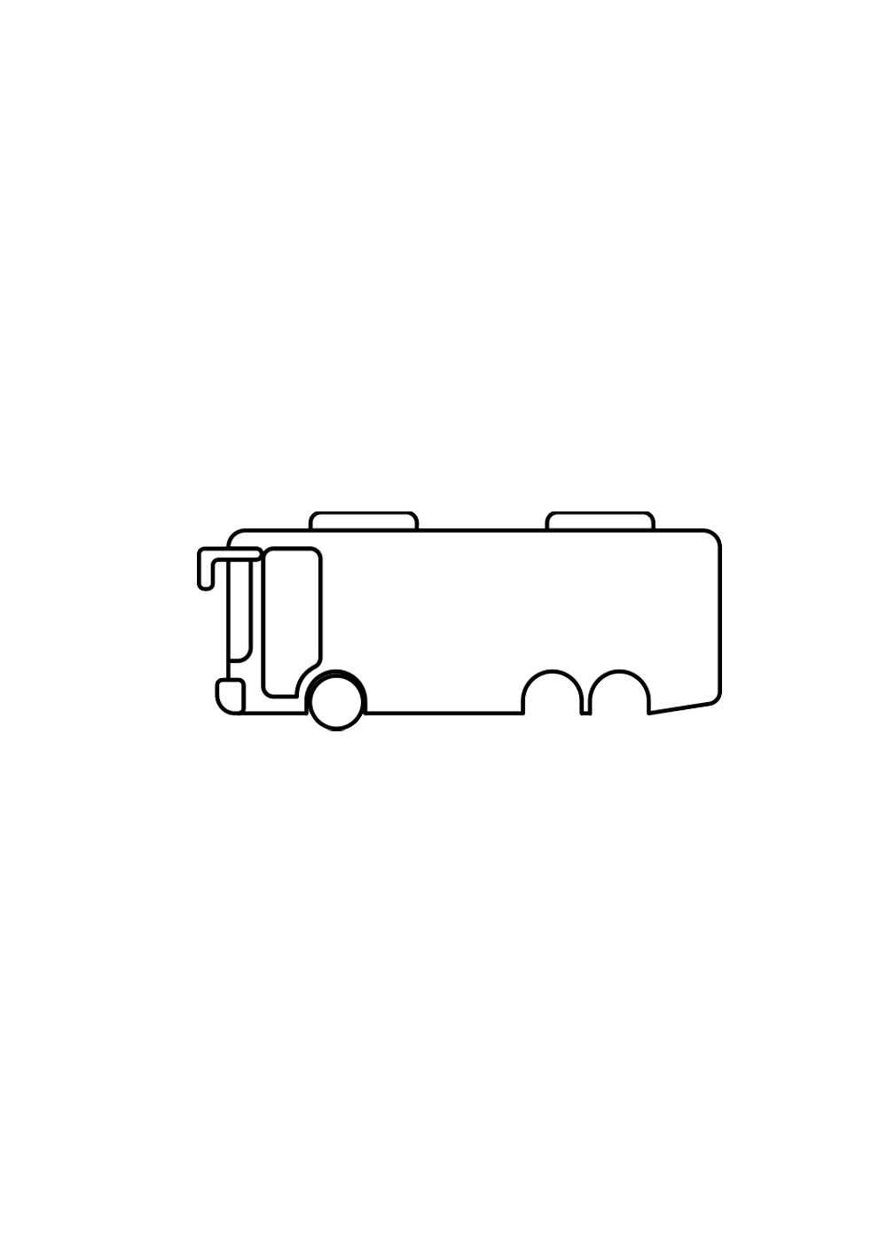 drawing a bus step 3