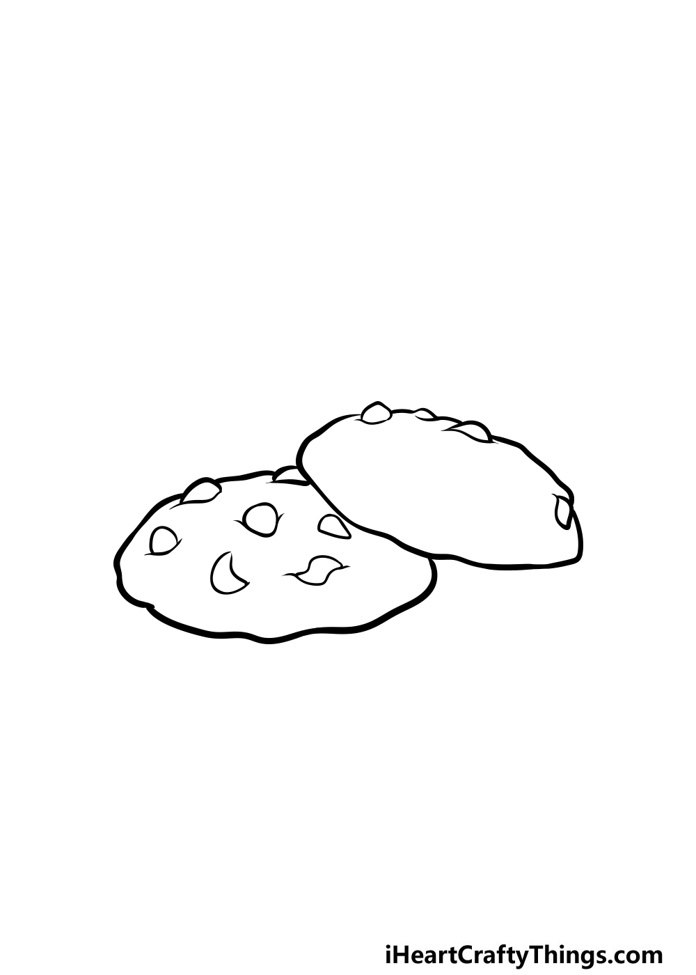 drawing a cookie step 3