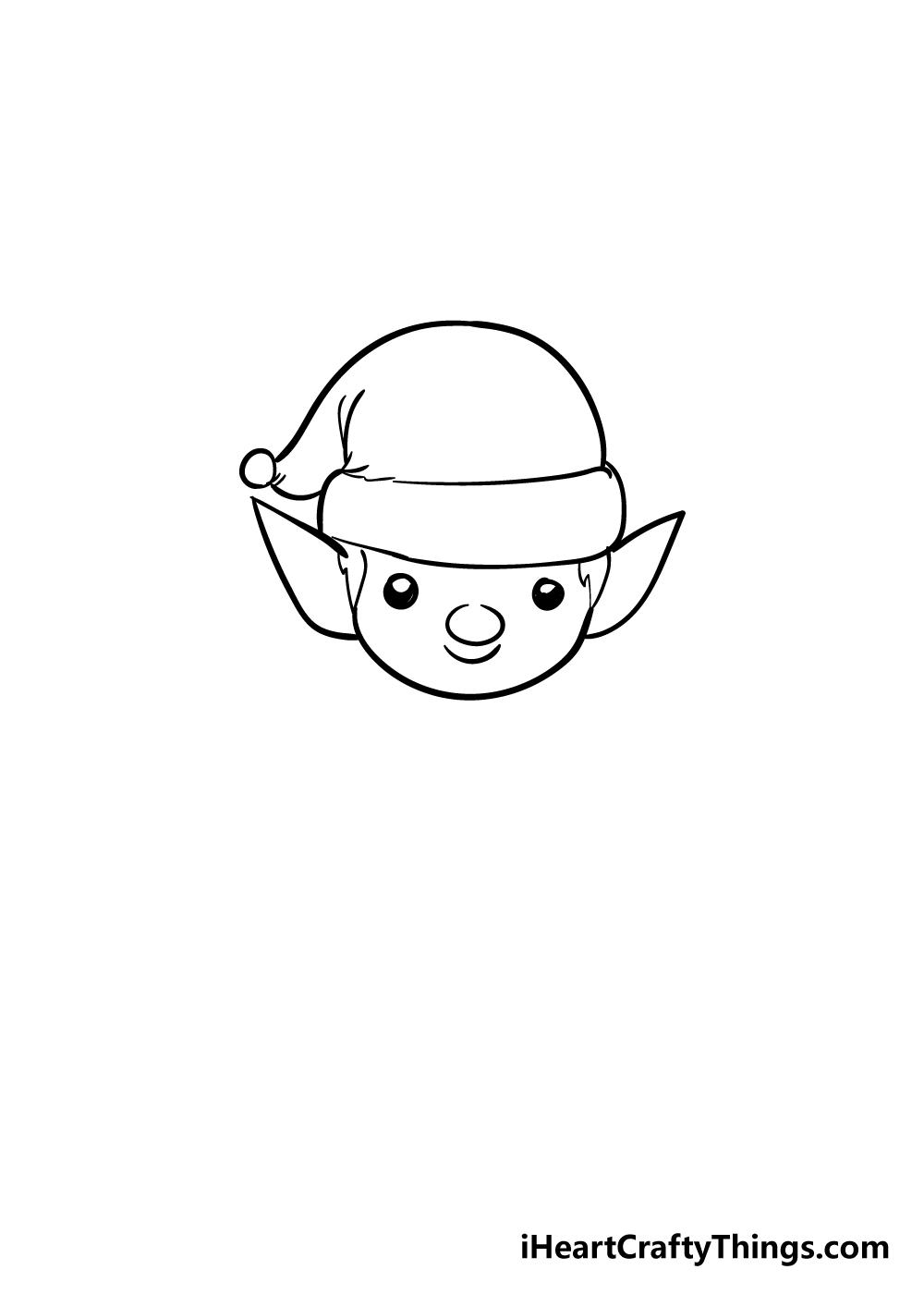 elf drawing step 3