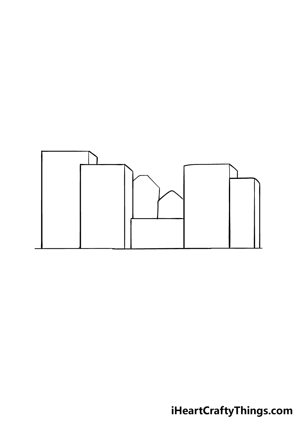 drawing a city step 3
