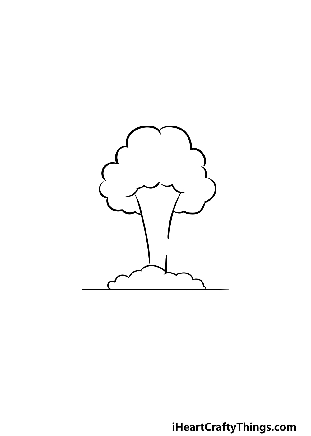 drawing an explosion step 3