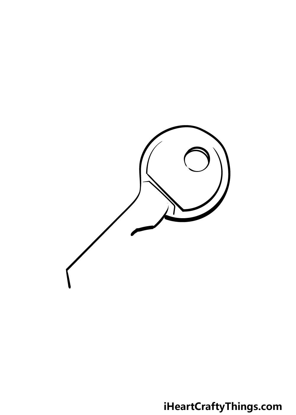 drawing a key step 3