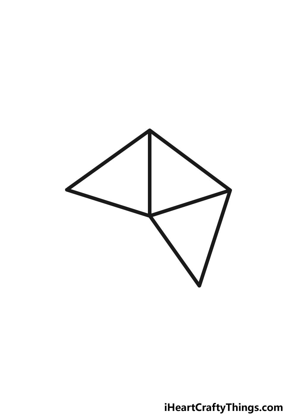 drawing a pentagon step 3