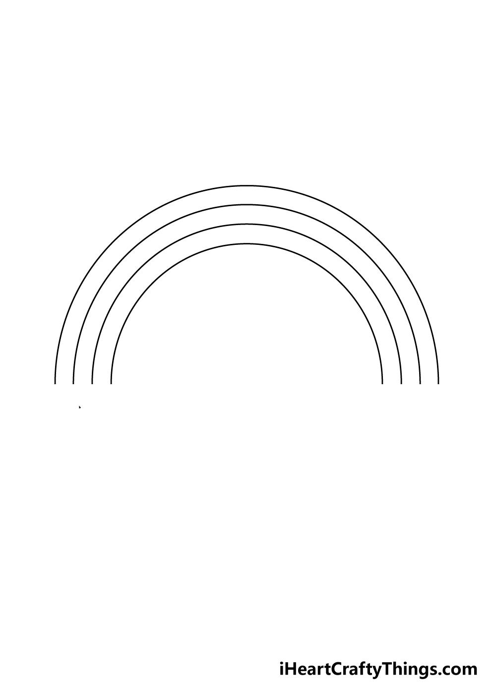 drawing a rainbow step 3