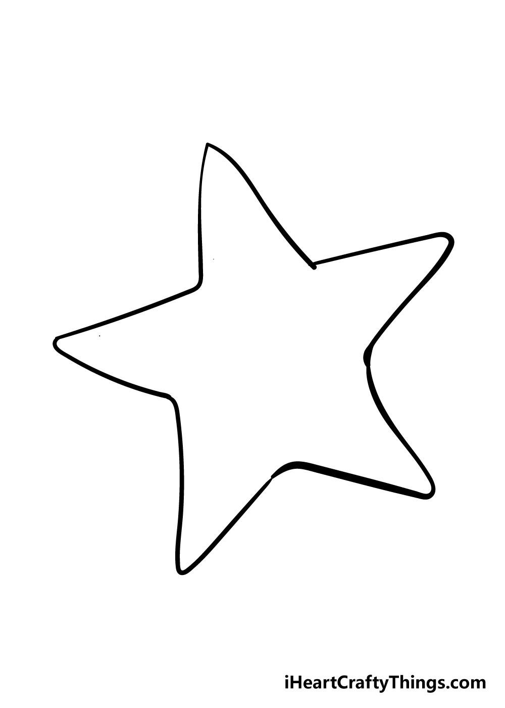 vẽ một con sao biển bước 3