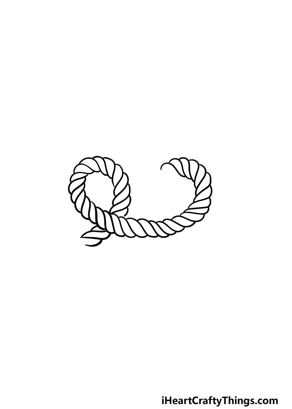 drawing rope step 4