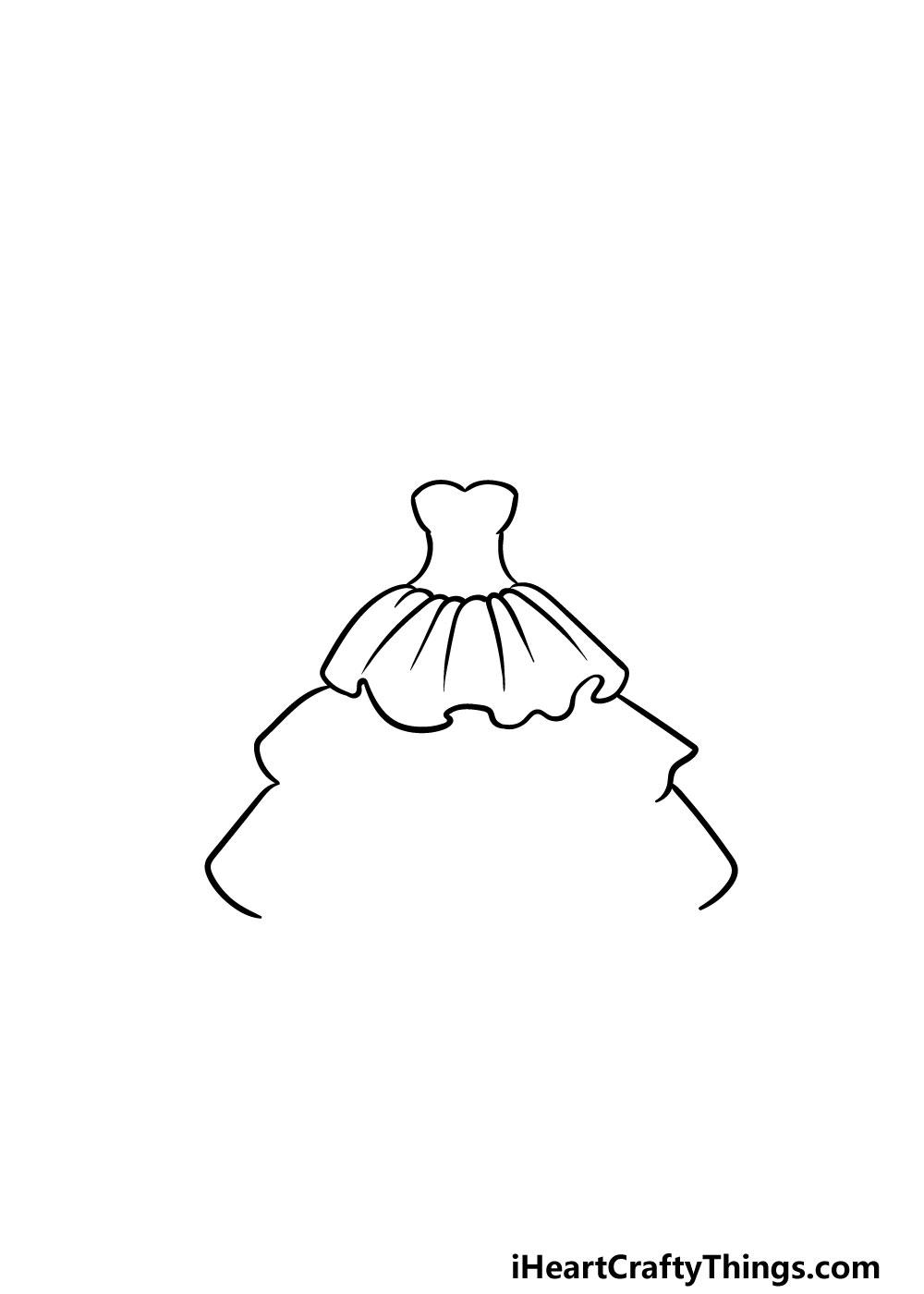 drawing ruffles step 4