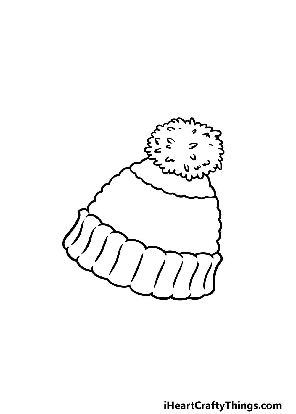 drawing beanie step 4