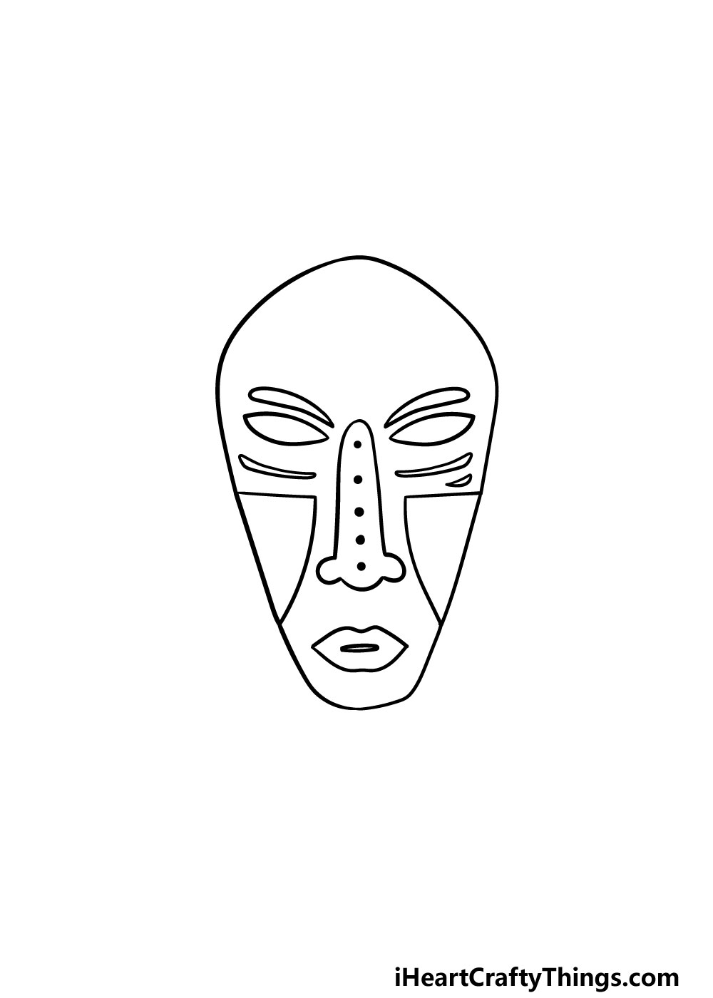 drawing a mask step 4