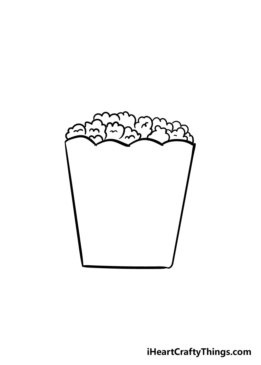 popcorn drawing step 4