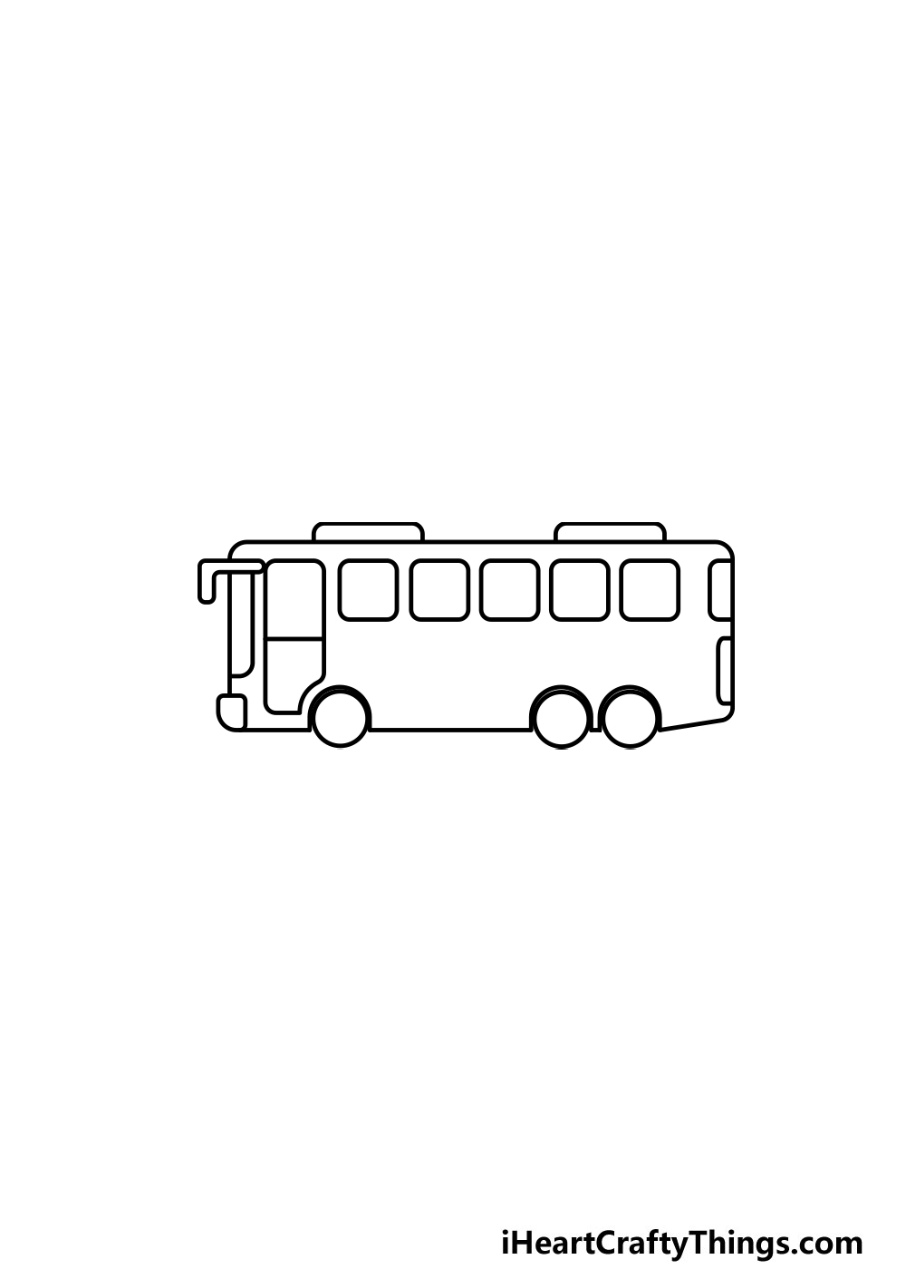 drawing a bus step 4