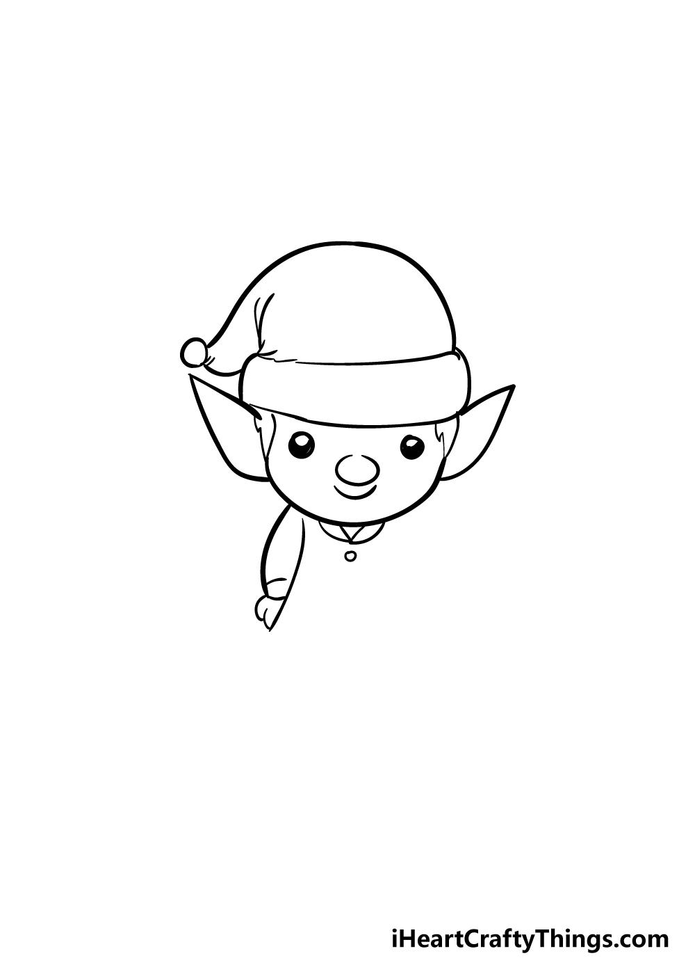 elf drawing step 4