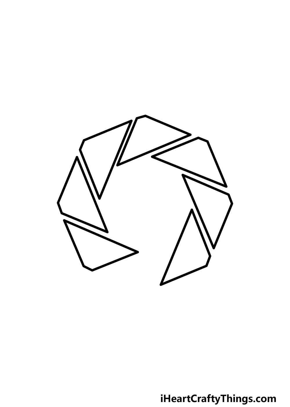 drawing an octagon step 4