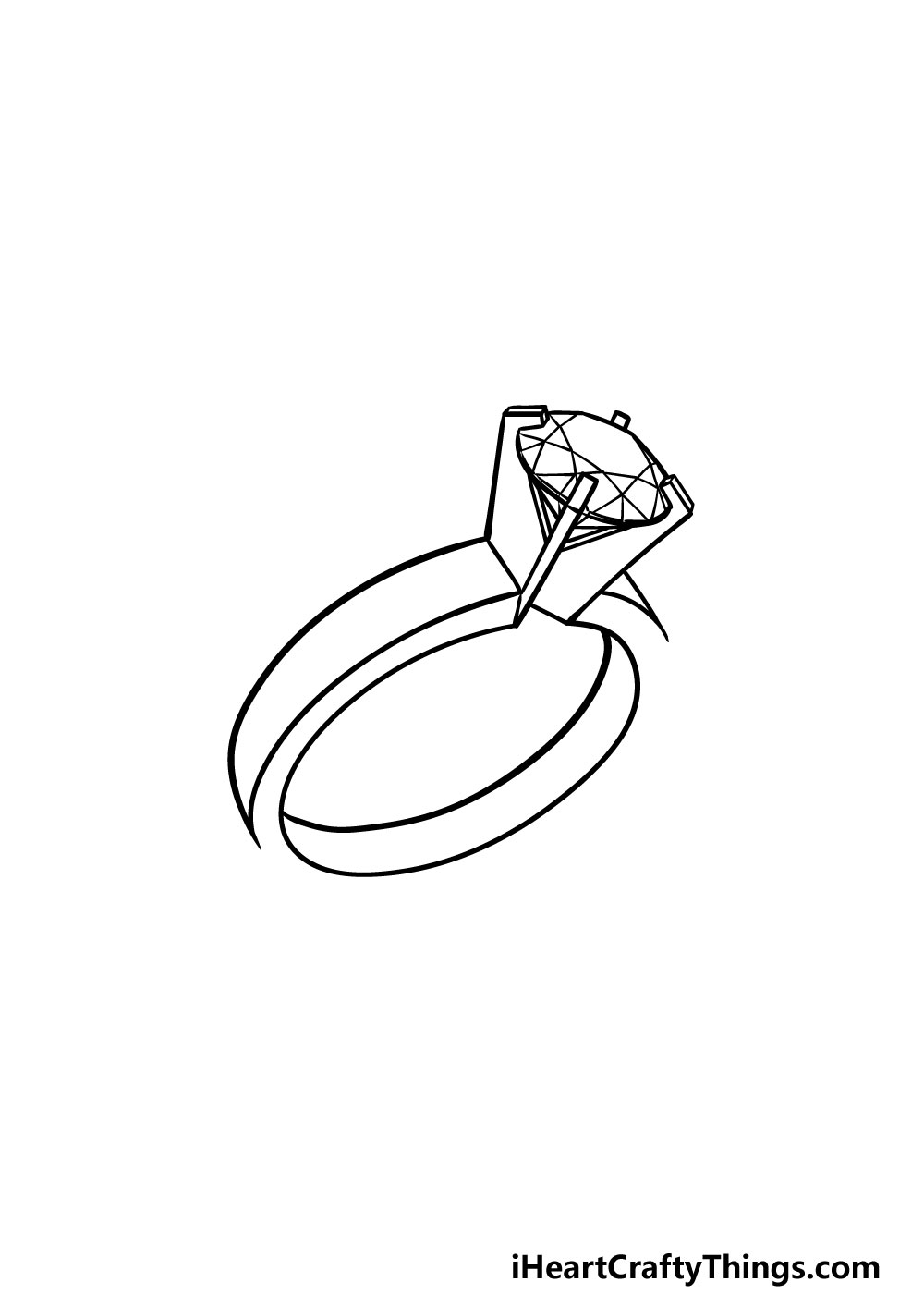 drawing a ring step 4
