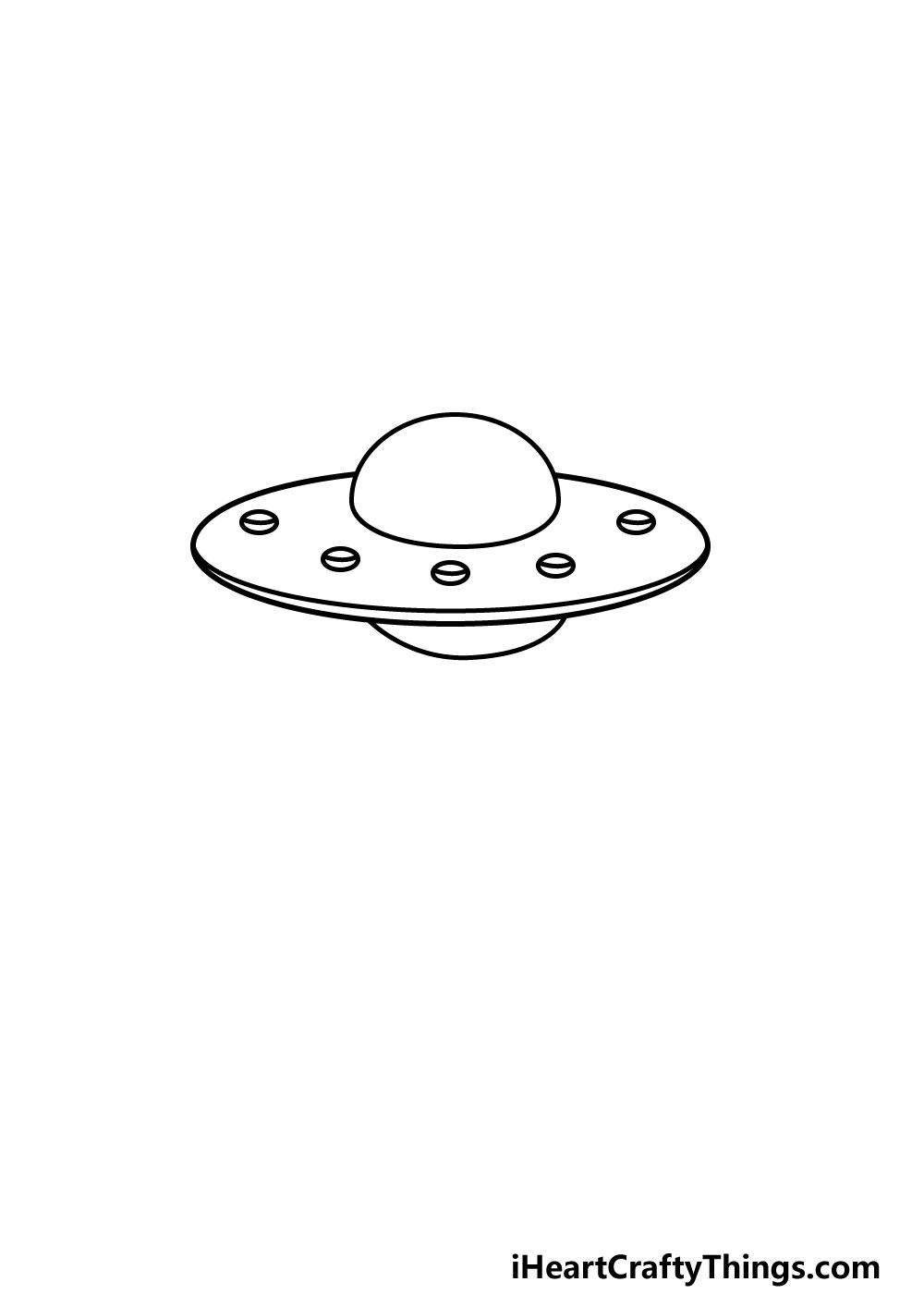 drawing a UFO step 4