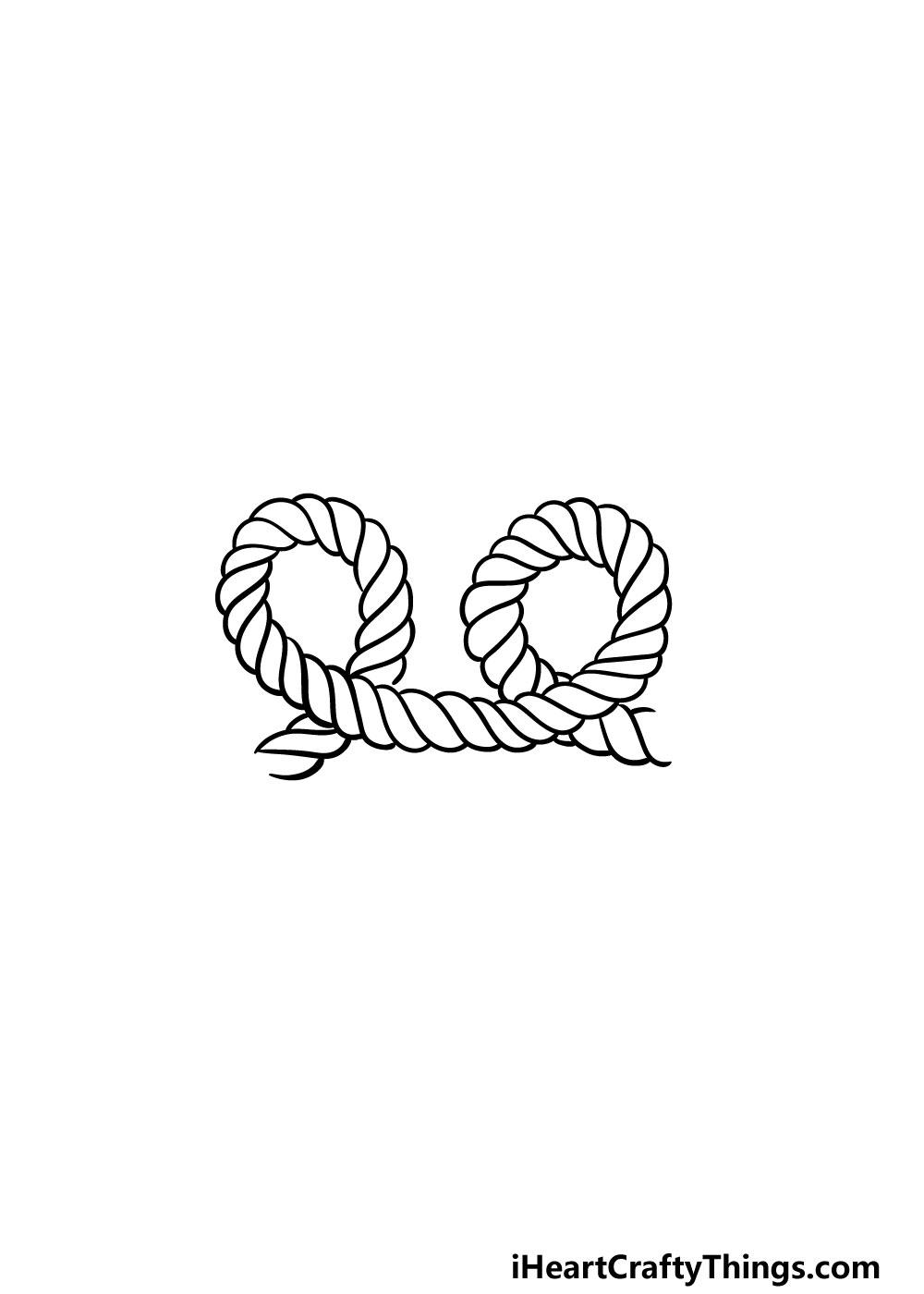 drawing rope step 5