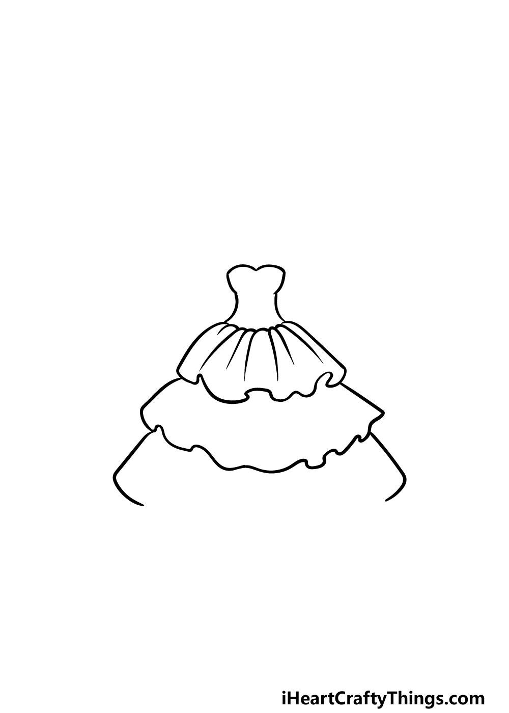 drawing ruffles step 5