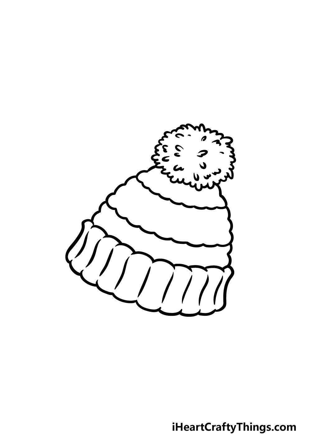 drawing beanie step 5