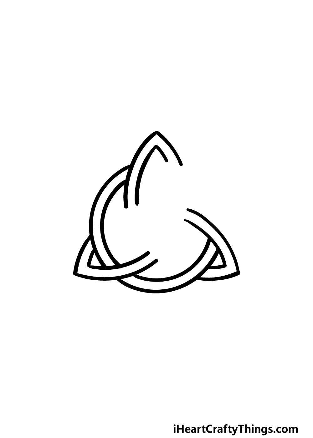 drawing a celtic knot step 5