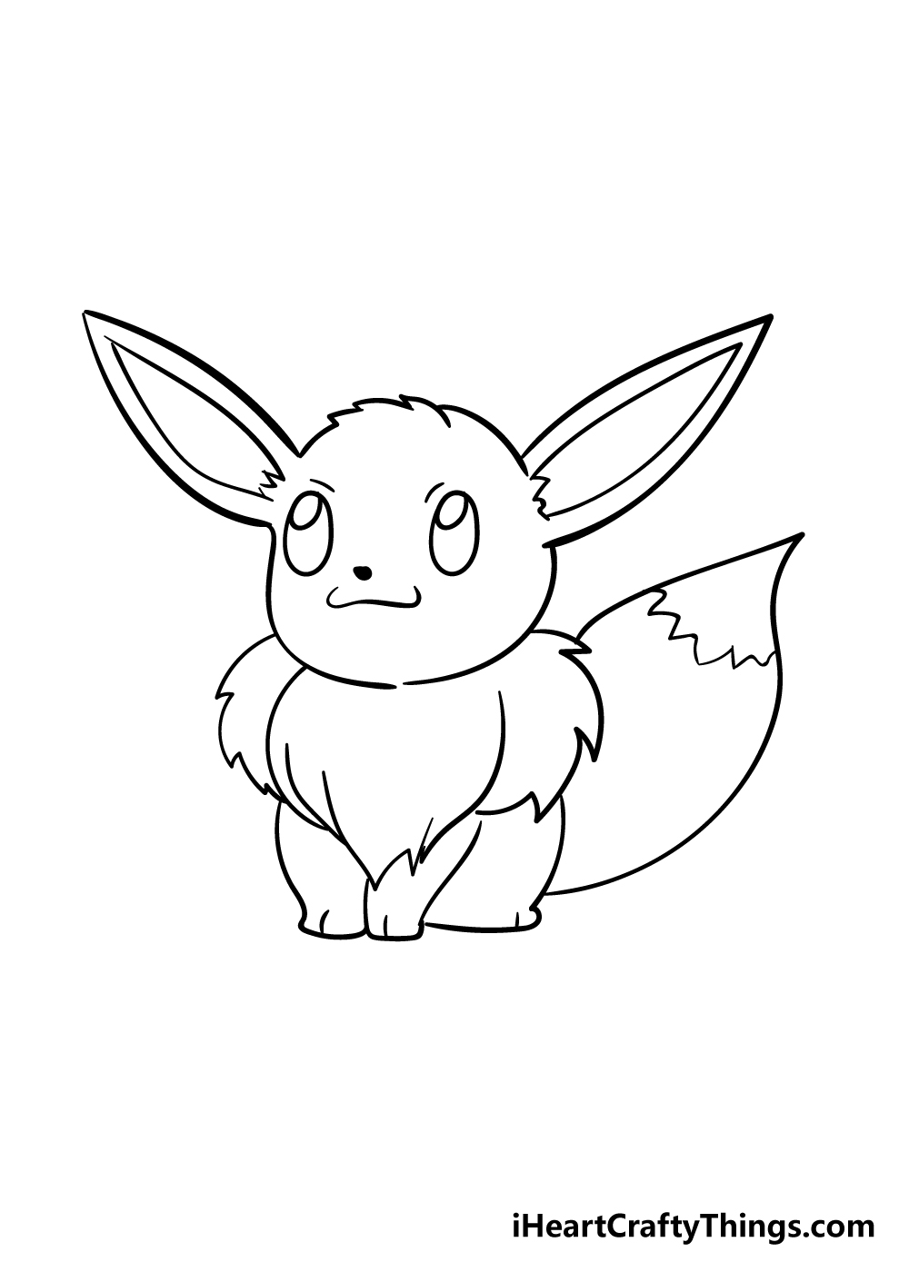 eevee drawing step 5