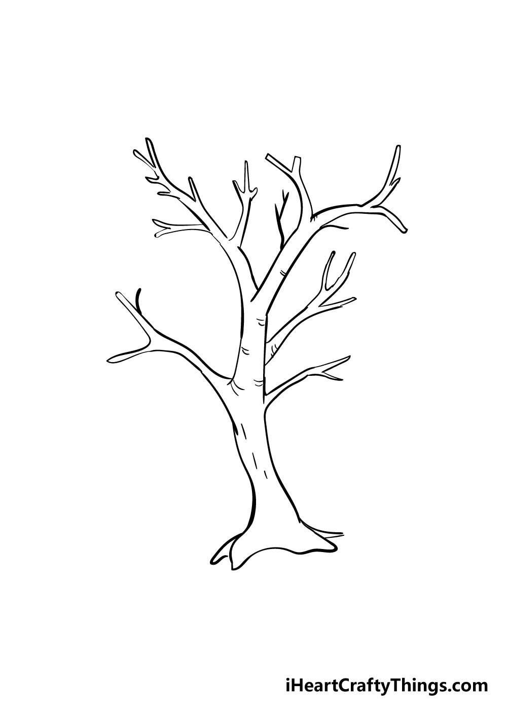 drawing branches step 5