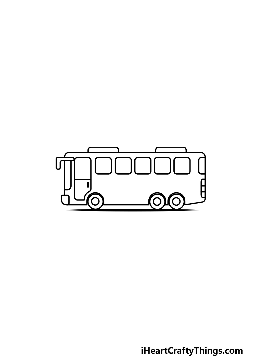 drawing a bus step 5