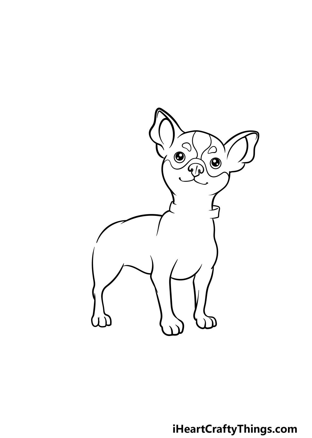 drawing a chihuahua step 5