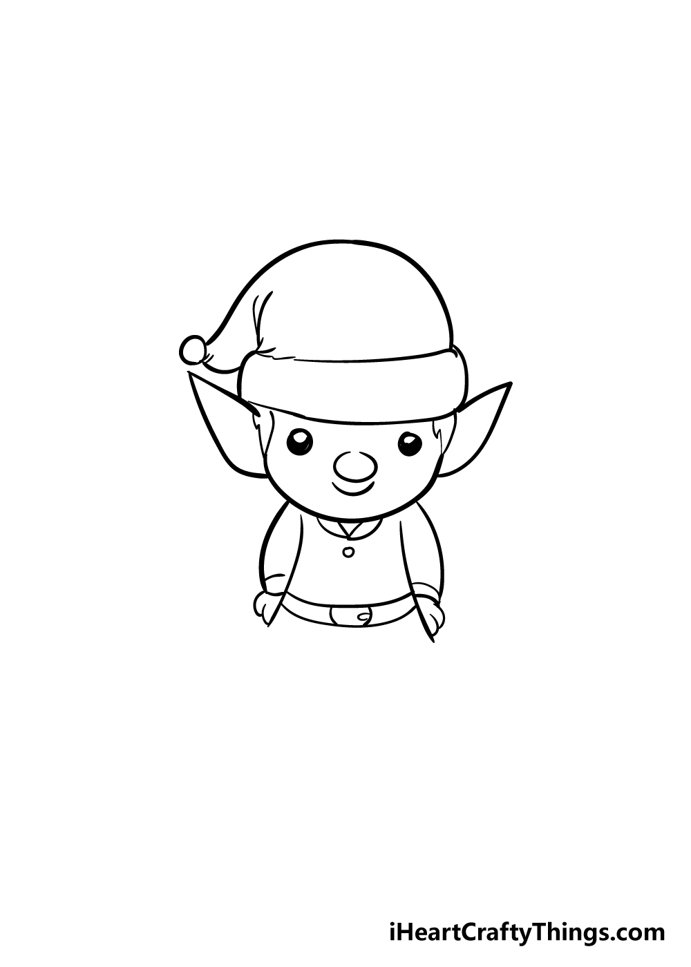 elf drawing step 5